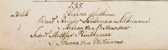 1805.11.20 Doop Helena Lindeman-A