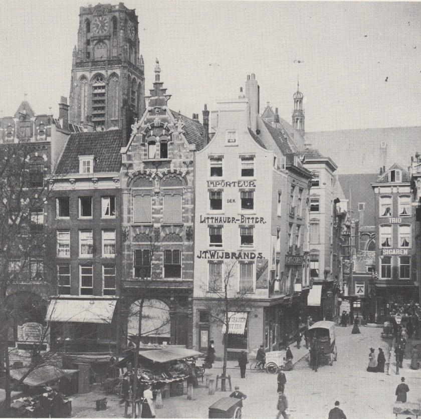 Nauwe Kerksteeg 1905