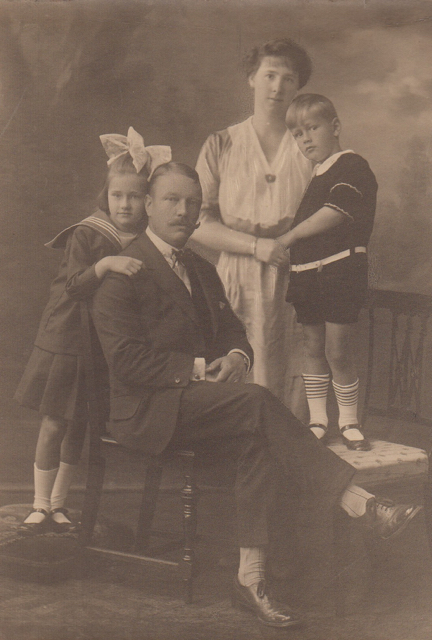 1922 Foto gezin