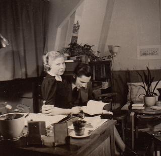 1937 Kamer Arthur met RietjeK