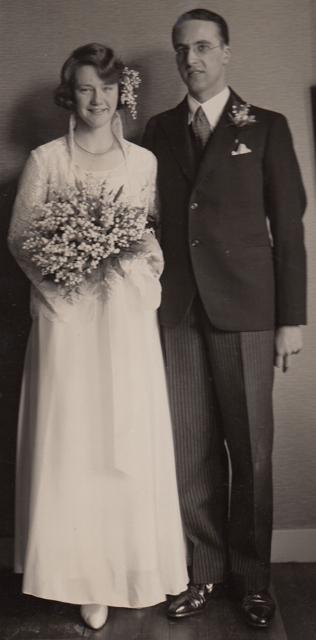 1932 Huwelijk Edith&OscarN