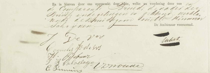 1861.02.14 Huwelijk Hendrikus-A