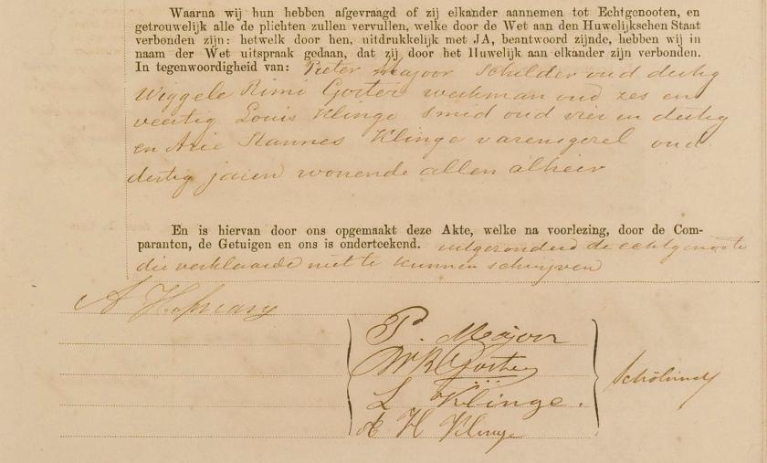 1891.09.27 Anthonie II Hofmans Huwelijk-A