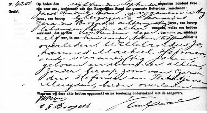 1902.09.15 Overlijden Willebrordus Johannes Machiel