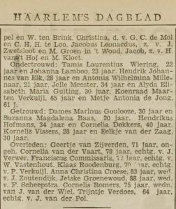 1941-.03.28 Huwelijk Hofmans-Dekkers