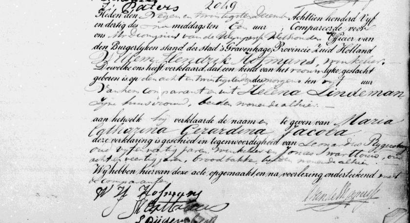 1835.12.28 Geboorte Maria Catharina Gerardina Jacoba-A
