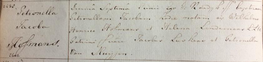 1839.06.17 Doop Petronella Jacoba