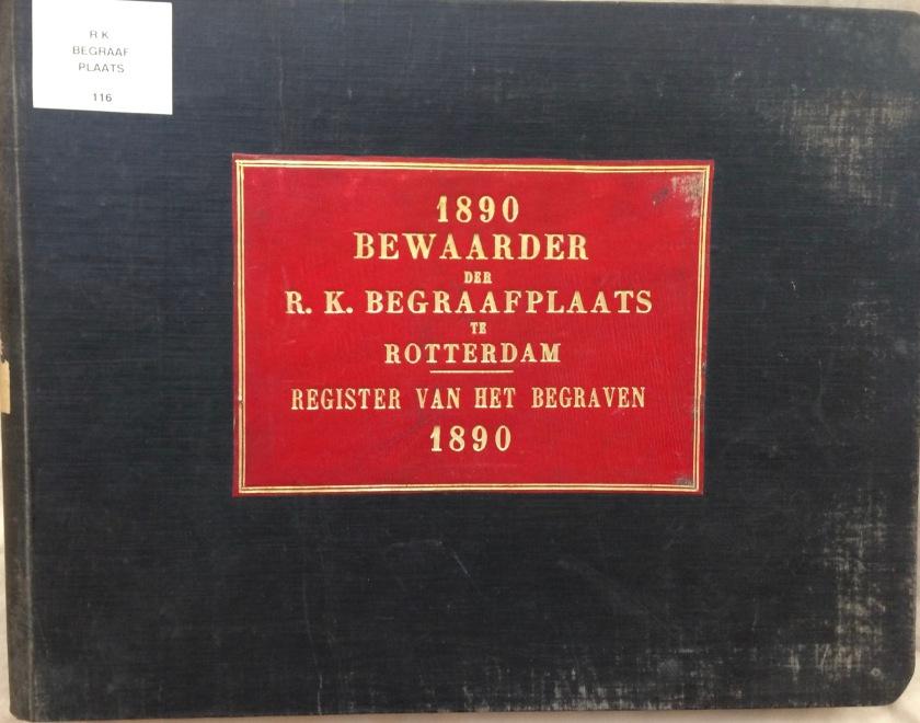 1890 – Register van het Begraven