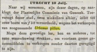 1851.07.11 utrechtsche provinciale en stads-courant