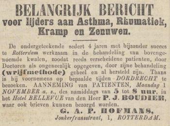 1880.10.23 Dordrechtsche Courant-Bewerkt