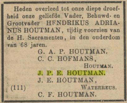 De Maasbode van 15 januari 1886.