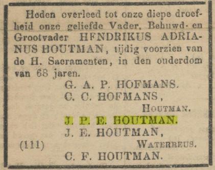 De Maasbode van 16 januari 1886.