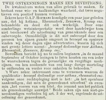 Kwakzalverij 1883.08 – detail