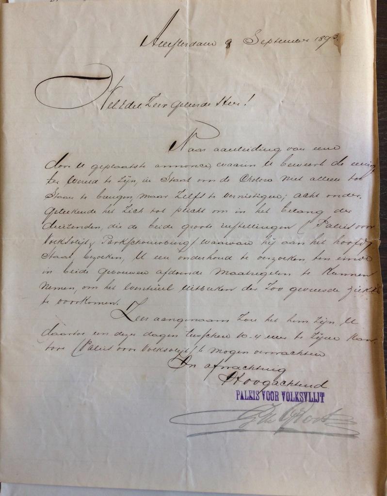 1671-05 Brief G de Groot