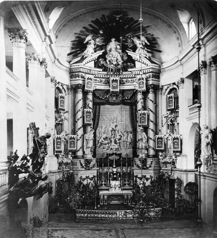 Rosaliakerk – Interieur